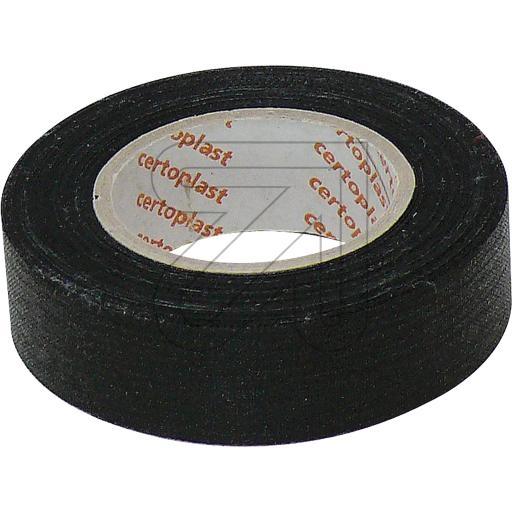 Certoplast Gewebeisolierband schwarz L10m/B19mm 720350->EUR 0.20 je m