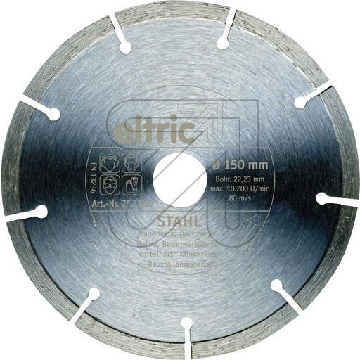 EGBDiamant-Trennscheibe 150mm Stahl