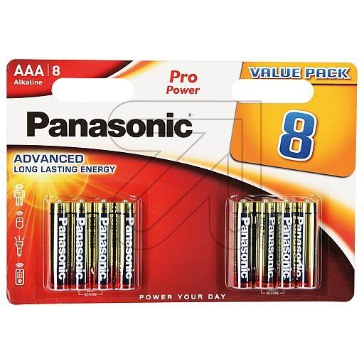 PanasonicBatterie PRO POWER ALKALINE Micro LR03 1,5V 8er-Blister 135356-EUR 0.46 je St