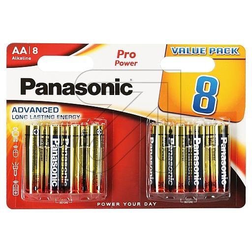 PanasonicBatterie PRO POWER ALKALINE Mignon LR6 1,5V 8er-Blister 135352-EUR 0.46 je St
