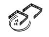OMNITRONICBOB-4 Extension Bracket black 2x