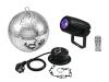 EUROLITEMirror Ball 20cm with motor + LED PST-5 QCL Spot bk