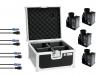 Set 4x TCM FX E-Shot + 4x Kabel + Case