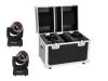 EUROLITESet LED TMH-41 Hypno Moving-Head Spot + Case