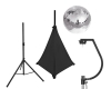 EUROLITESet Mirror ball 30cm with stand and tripod cover black