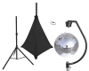EUROLITESet Mirror ball 50cm with stand and tripod cover black