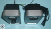 1 pair of PC speakers Logitech LS11 3W with 3.5mm jack plug and power supply used!