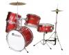 DIMAVERYJDS-305 Kids Drum Set, red