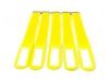 GAFER.PLKabelbinder Klettverschluss 25x550mm 5er Pack gelb