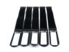 GAFER.PLKabelbinder Klettverschluss 25x400mm 5er Pack sw