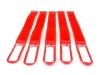 GAFER.PLKabelbinder Klettverschluss 25x400mm 5er Pack rot