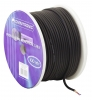 OMNITRONICMicrophone cable 2x0.22 100m bk + plugs