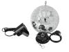 EUROLITEMirror Ball Set 20cm with LED Spot