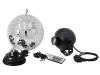 EUROLITEMirror Ball Set 20cm with LED RGB Spot RC