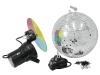 EUROLITEMirror Ball Set 30cm with Pinspot