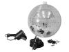 EUROLITEMirror Ball Set 30cm with LED Spot