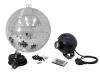EUROLITEMirror Ball Set 30cm with LED RGB Spot RC