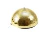 EUROLITEHalf Mirror Ball 30cm gold motorized