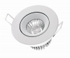 SigorLED 10 W CIVILIGHT HALED III Downlight Einbaustrahler weissEEK: A