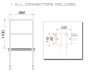 GUILTMQ-01/440 Stage Rail 88cm (Aluminium Version)