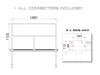 GUILTMQ-02/440 Stage Rail 188 cm (Aluminium Version)