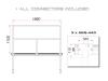 GUILTMQ-02/440 Stage Rail 188 cm (Aluminium Version) bl