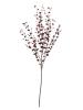 EUROPALMSEukalyptuszweig, künstlich, rot, 110cm
