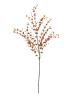EUROPALMSEukalyptuszweig, künstlich, orange, 110cm