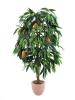 EUROPALMSMango tree with fruits, artificial plant, 165cm