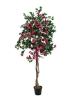 EUROPALMSBougainvillea, artificial plant, red, 150cm