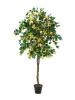 EUROPALMSBougainvillea, artificial plant, yellow, 180cm