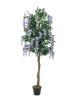 EUROPALMSGoldregenbaum, Kunstpflanze, violett, 150cm
