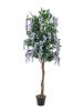 EUROPALMSGoldregenbaum, Kunstpflanze, violett, 180cm