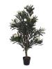 EUROPALMSOleander tree, artificial plant, white, 120 cm