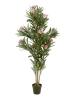 EUROPALMSOleander tree, artificial plant, pink, 150 cm