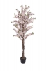 EUROPALMSCherry tree with 4 trunks, artificial plant, pink, 150 cm