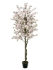 EUROPALMSCherry tree with 4 trunks, artificial plant, pink, 180 cm