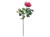 EUROPALMSPeony Branch premium, artificial plant, magenta, 100cm