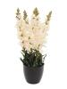 EUROPALMSAntirrhinum, artificial plant, white, 65cm