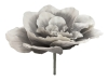 EUROPALMSGiant Flower (EVA), artificial, stone grey, 80cm