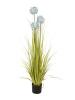 EUROPALMSAllium grass, artificial plant, blue, 120 cm