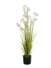 EUROPALMSJasmin grass, artificial plant, white, 130 cm
