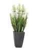 EUROPALMSLavendel, Kunstpflanze, cremefarben, im Dekotopf, 45cm