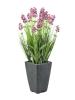 EUROPALMSLavendel, kunstpflanze, rosé, im Dekotopf, 45cm