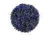 EUROPALMSGraskugel, künstlich, violett, 22cm