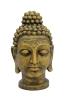 EUROPALMSBuddhakopf, antik-gold, 75cm