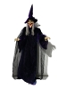 EUROPALMSHalloween Figur Hexe, animiert 175cm