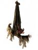 EUROPALMSHalloween Figur BAT, animiert 95cm