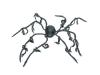 EUROPALMSHalloween Spider, animated, 110x8cm