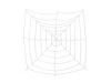 EUROPALMSHalloween Spiderweb, 180x180cm